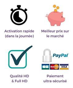 Abonnement IPTV en France
