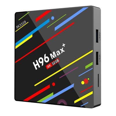 H96 Max Android 8.1 TV Box 4G / 32G + 12 mois d'abonnement Premium IP TV